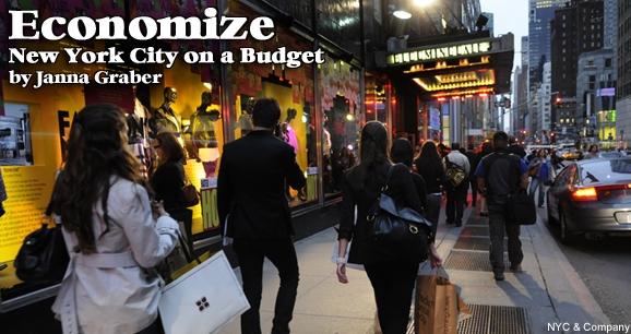 Economize: New York City on a Budget